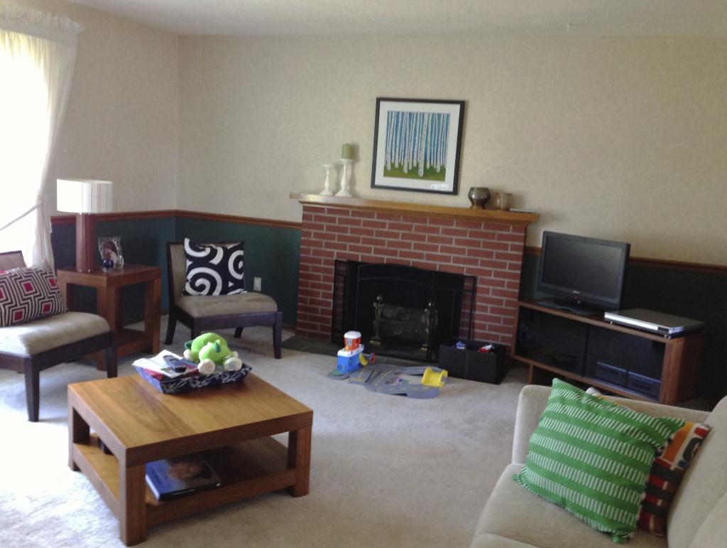 Pollard Living Room - Before