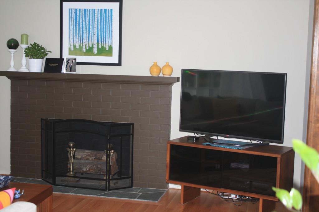 Pollard Fireplace - After