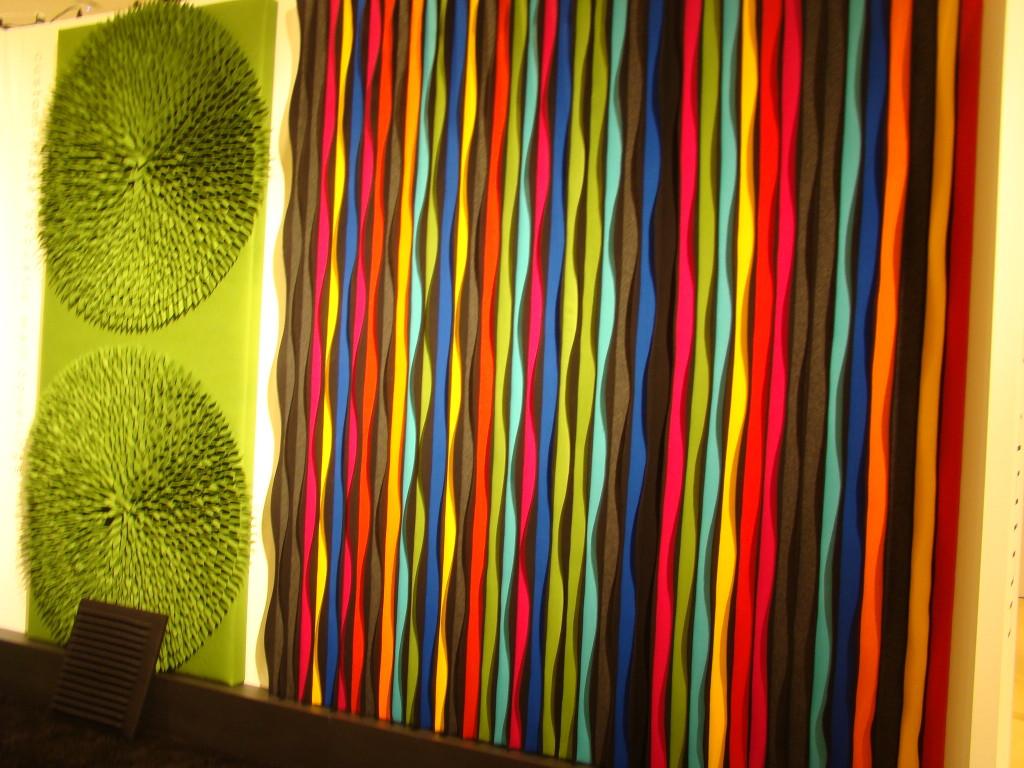 Felt Acoustic 3D Wall Designs