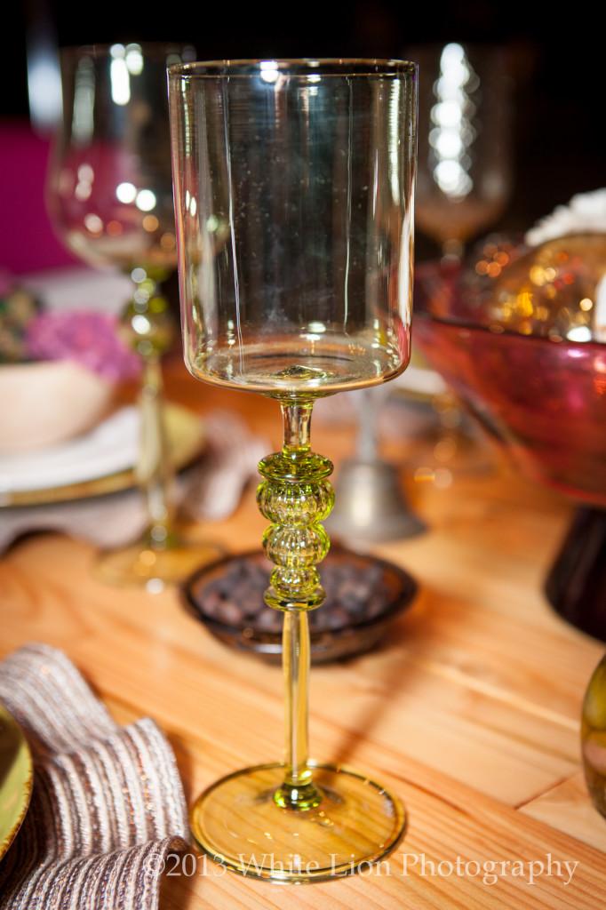 VITRELUXE glass goblet