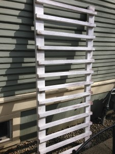 Reclaimed Fencing