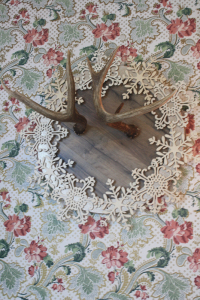 Antler-Snowflake-Wreath