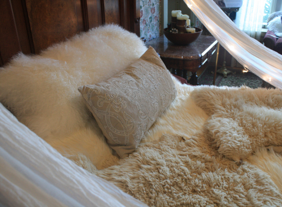 Cozy-Cabin-Bed-Detail