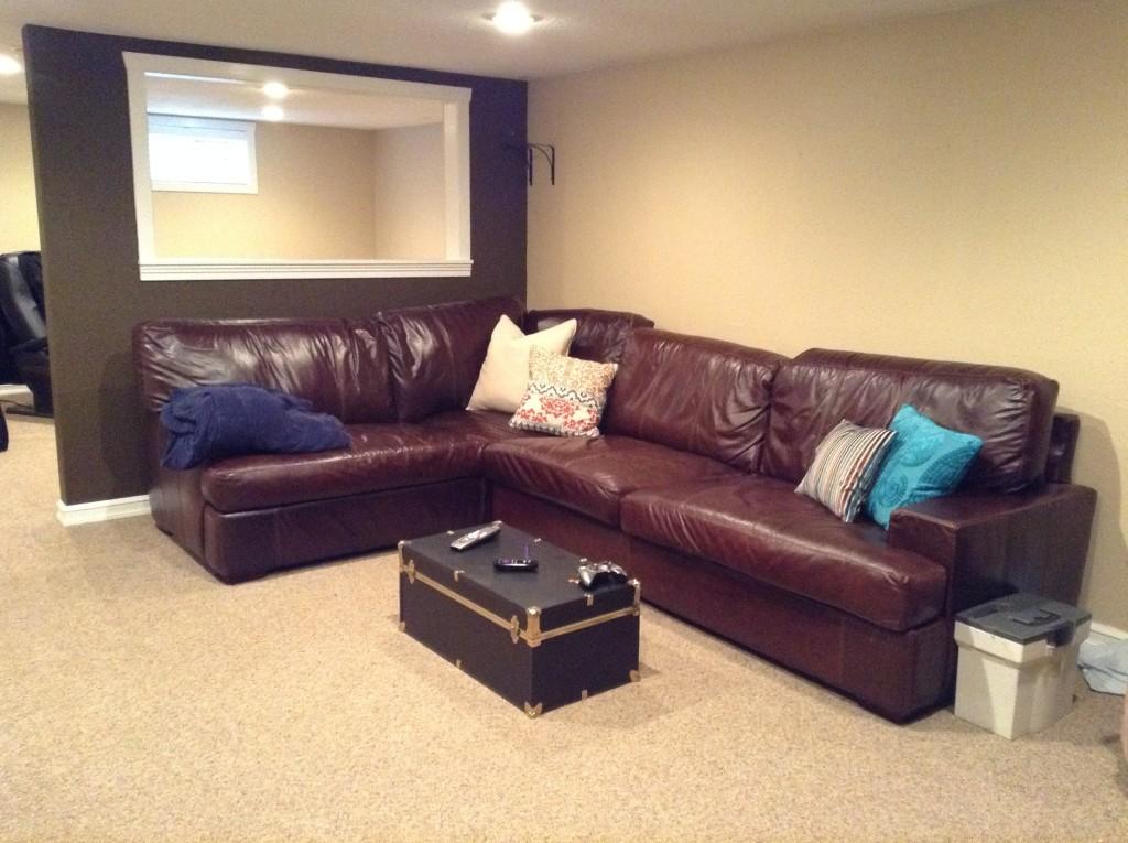 Living/TV room - Before