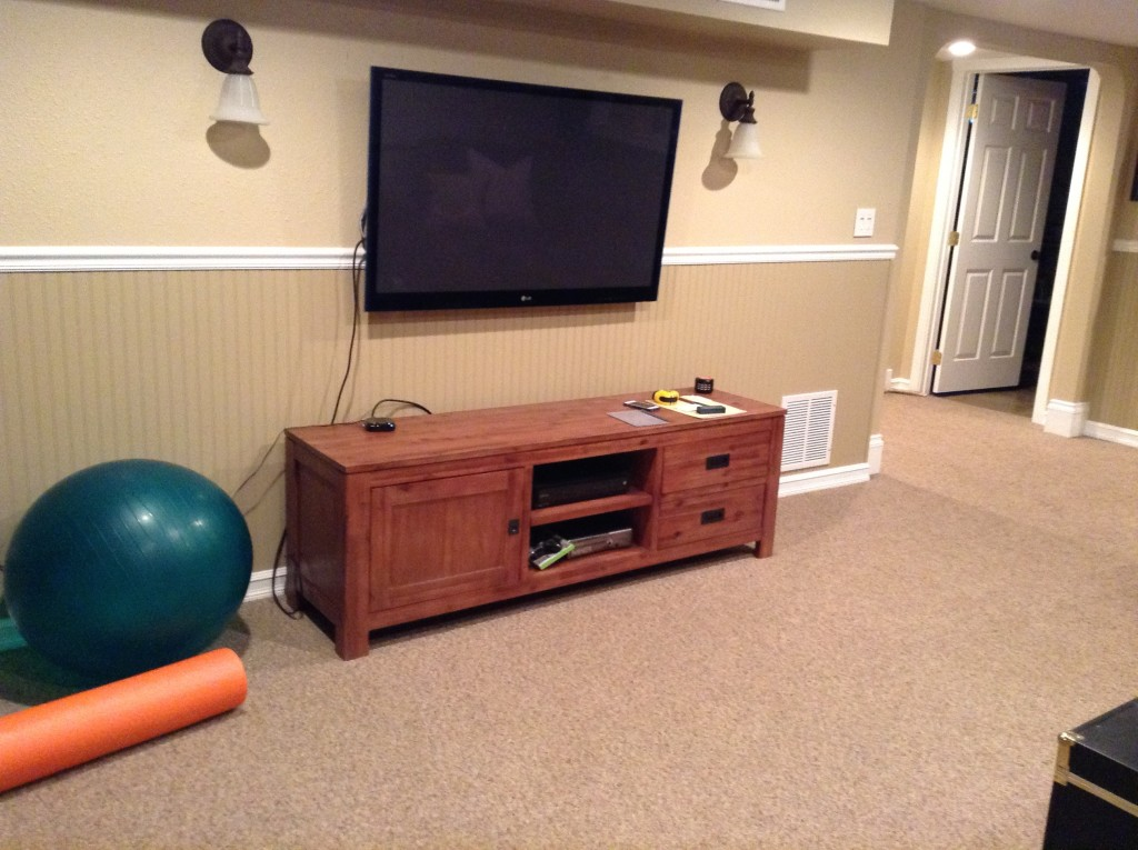 Living/TV Area - Before