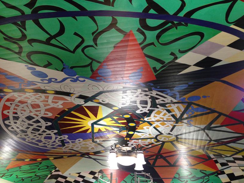 LA-Library-Ceiling-Mural