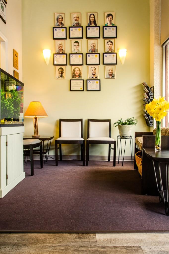 Hawthorne Auto Clinic Waiting Area Make-over