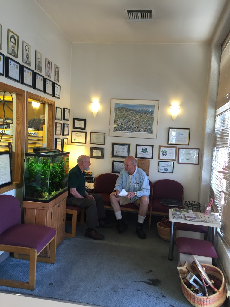 Hawthorne Auto Clinic Before Improvements