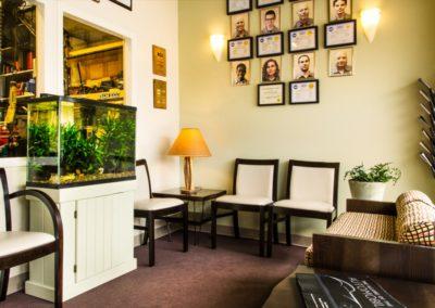 Sustainably Designed Waiting Area