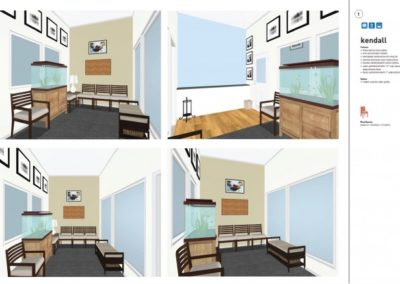 Waiting Area Concept Board