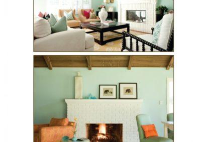 Living Room Color Inspiration: Green