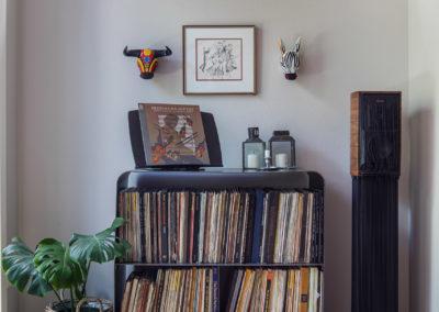 Custom Made LP Storage