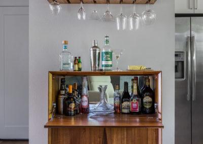 Mid Century Modern Liquor Cabinet