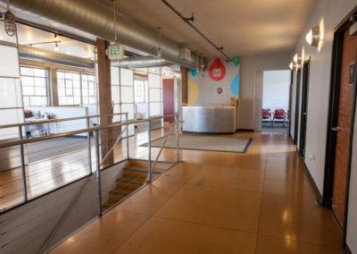 Reception Area After