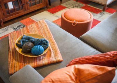 Living Room Color Inspiration: Orange
