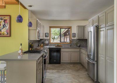 Kitchen Update Grey Cabinets