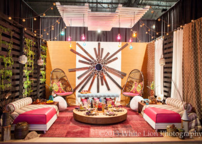 Moroccan Interior Design Display