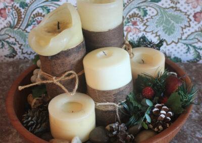 Holiday Decor IdeasC andles